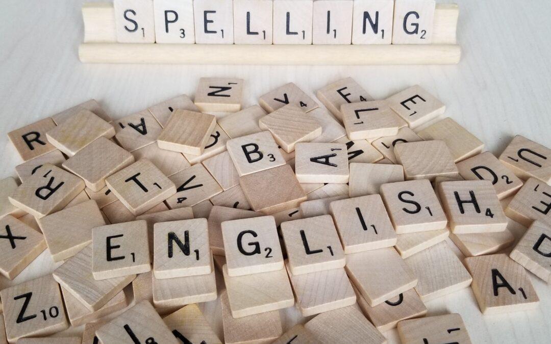 Common Spelling Errors